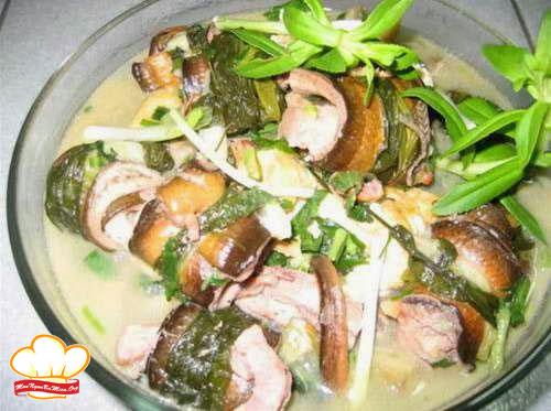 Cách chế biến món lươn nấu củ chuối đúng chuẩn