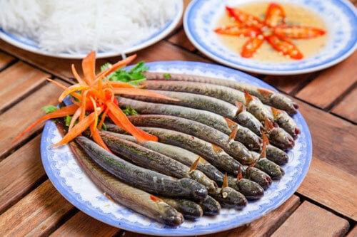 Nguyên liệu cần chuẩn bị cho món lẩu cá kèo lá giang