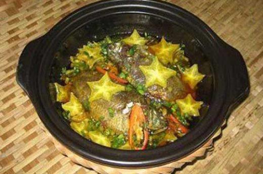 Cách làm cá diếc kho tương khế đậm đà, ngon miệng, đưa cơm