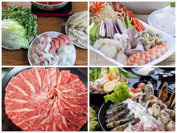 Sơ chế nguyên liệu làm lẩu Thái hải sản