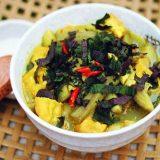 Cách nấu canh ốc chuối đậu thịt ngon chuẩn vị Bắc