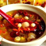 Hướng dẫn cách nấu chè dưỡng nhan tuyết yến, hạt chia, táo đỏ, bồ mễ