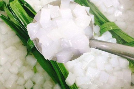 Cách làm thạch dừa thô tại nhà trắng ngần, dai giòn sần sật